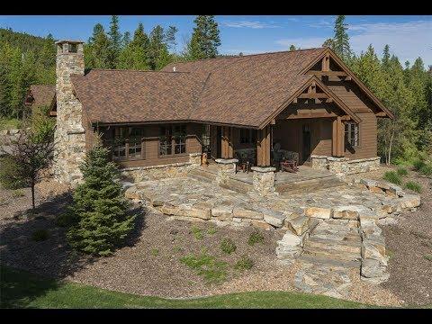 Quaint Timber Mountain Home In Whitefish, Montana