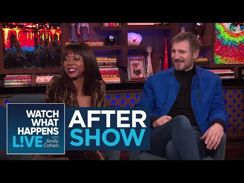 After : Taraji P. Henson And Liam Neeson's Admiration For Brad Pitt  WWHL
