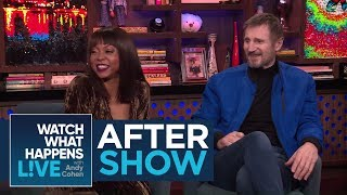 After Show: Taraji P. Henson And Liam Neeson's Admiration For Brad Pitt | WWHL