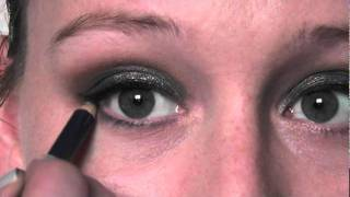 make up series look 4 sleek storm palette sparkly smokey eye
