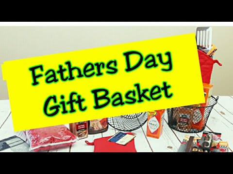 BBQ Themed Gift Basket | Father's Day | Dollar Tree Gift Ideas