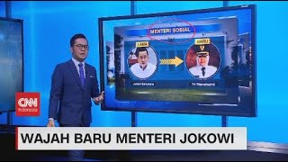 Wajah Baru Menteri Jokowi
