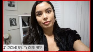 The 30 Second Beauty Challenge