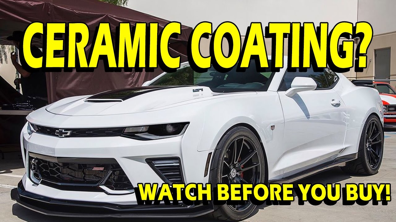 Ceramic Coating Your Car And Wheels Watch This Before