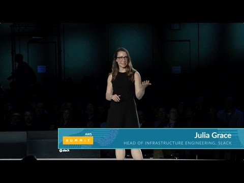 Slack at the AWS Summit San Francisco Keynote, April 2017