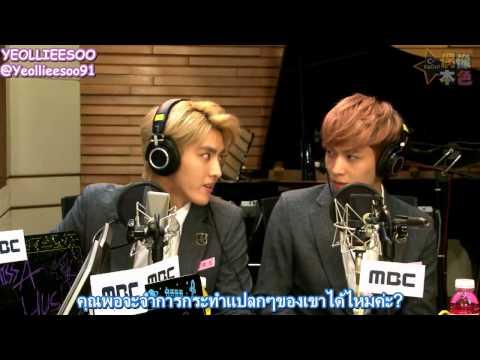 [Thai Sub] EXO - 131109 C Radio Idols' True Colours - เลย์&คริส เผาเทาทำตัวประหลาด