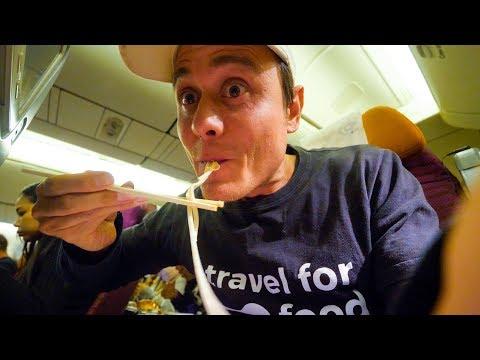 Thai Airways FOOD REVIEW - Flying From Sapporo, Hokkaido, Japan To Bangkok