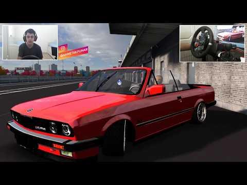 LFS ÜSTÜ AÇIK BMW E30 MODU | DRİFT SHOW | LOGİTECH G29