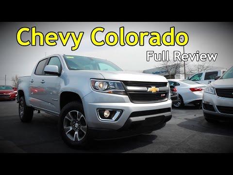 2017 Chevrolet Colorado: Full Review   Z71, LT, WT & Diesel