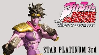 Recensione Review Star Platinum 3rd Action Figure JOJO