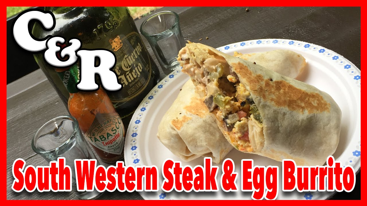 South West Steak & Egg Burrito Recipe - Cook & Review Ep #19