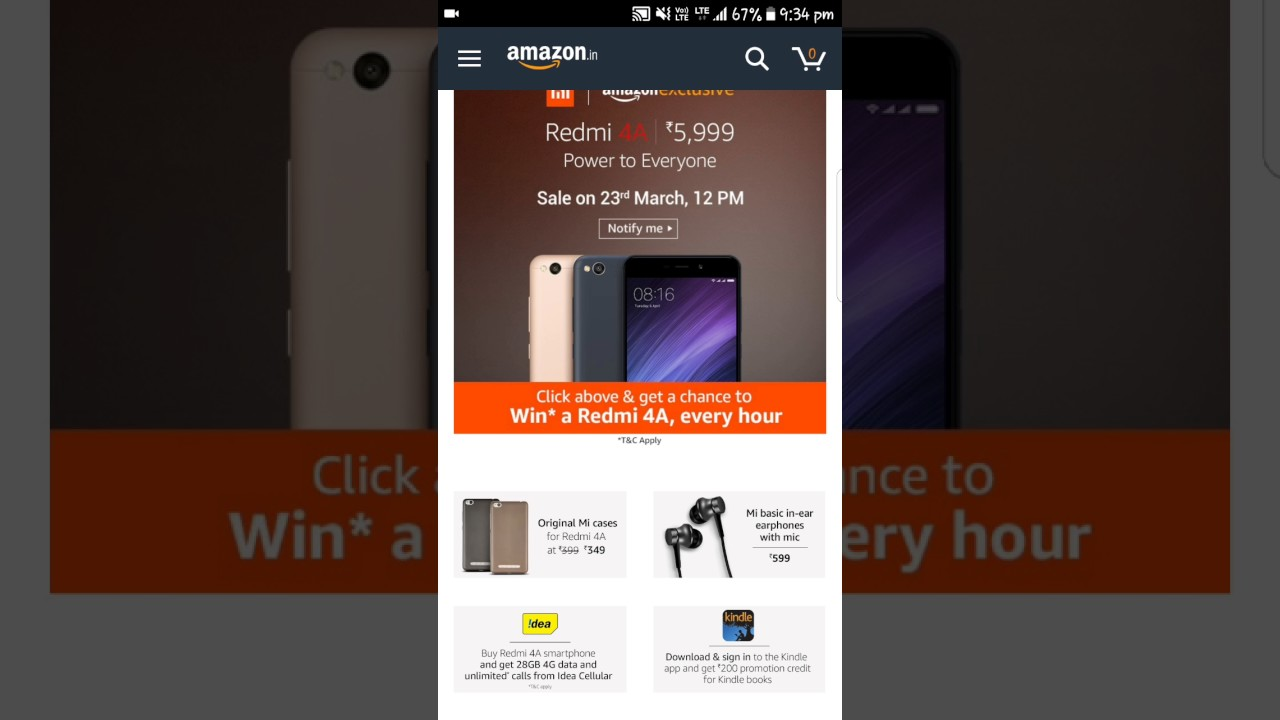 Win Redmi 4A for FREE  How to win it?