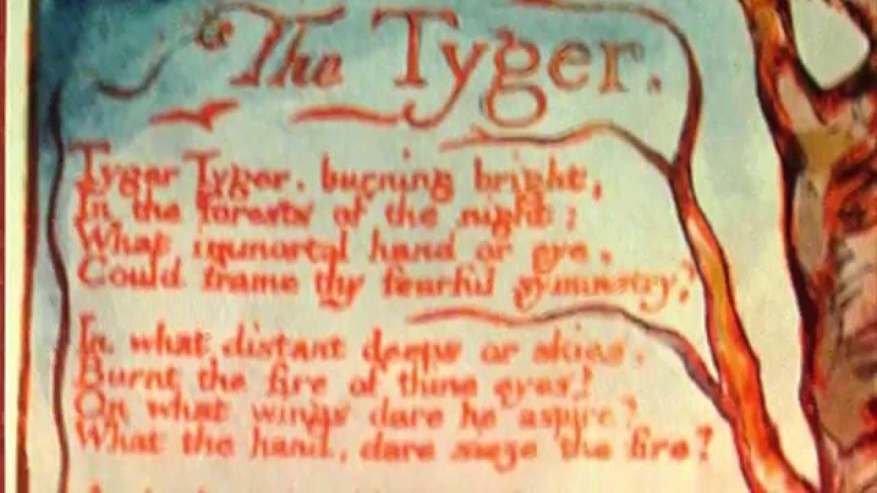 The Tyger' - William Blake - YouTube
