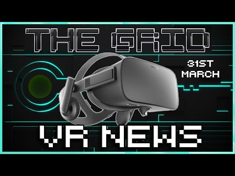 "Palmer Luckey ""Leaves"" Oculus + Facebook, Ghostbusters VR, Wilsons Heart, Ready Player One + HTC"