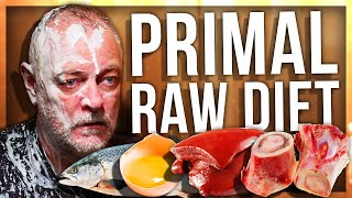 ANOMALY AND PAPA TRY RAW PRIMAL DIET (PALEO DIET)