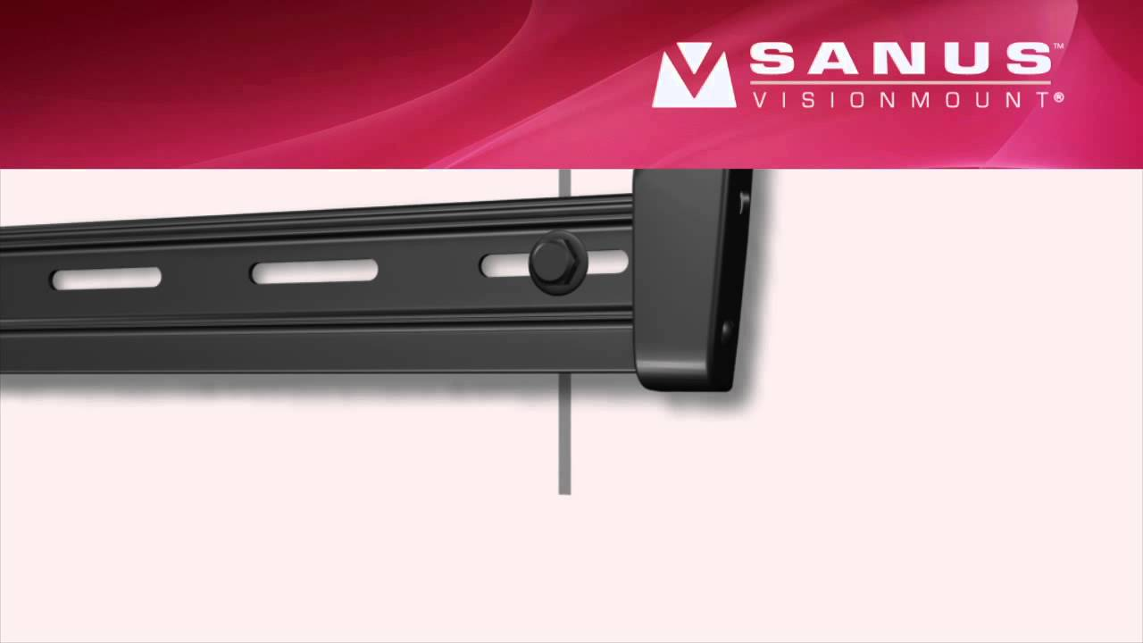 sanus tv mount instructions