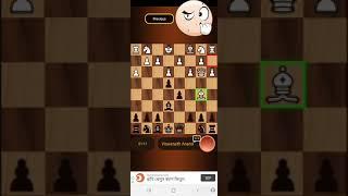 An Online Chess game : A Queen trap