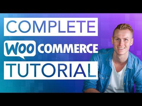 Complete WooCommerce Tutorial 2019 - 동영상
