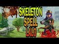 SKELETON SPELL LALO CLASH OF CLANS WINTER UPDATE 2018 TH9