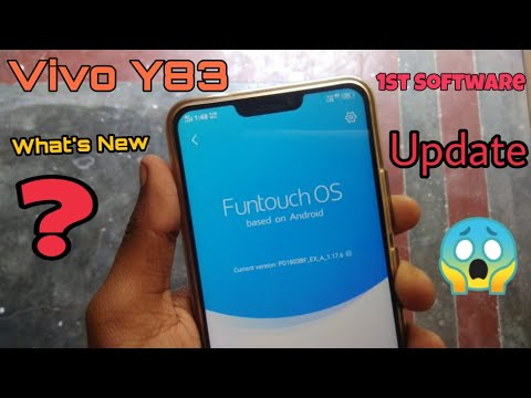 Vivo Y83 Software Update | Vivo Y83 First Funtouch Os Update | Better Camera Quality