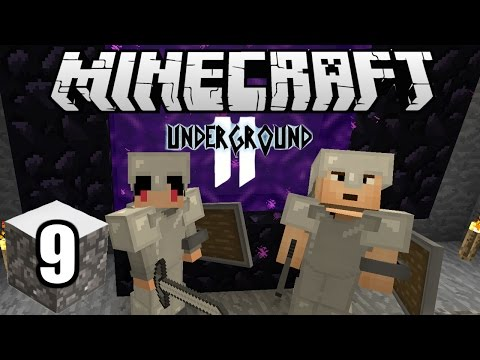 Minecraft Indonesia - Underground 2 : Portal Menuju Nether! (9)