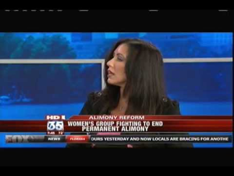 Debbie of Second Wives Club - Women Fighting to End Permanent Alimony - FOX News Interview