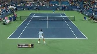 Cincinnati 2013 - R2 - Federer vs Kohlschreiber (HD)