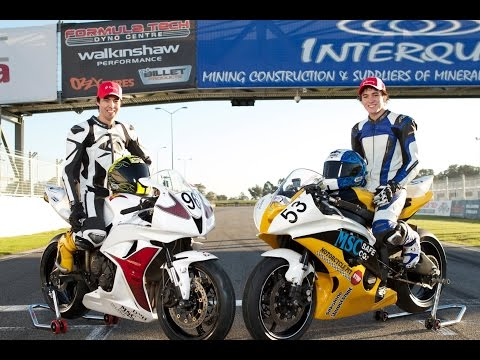 The COOTE BROTHERS - Perth Motor Bike Racing