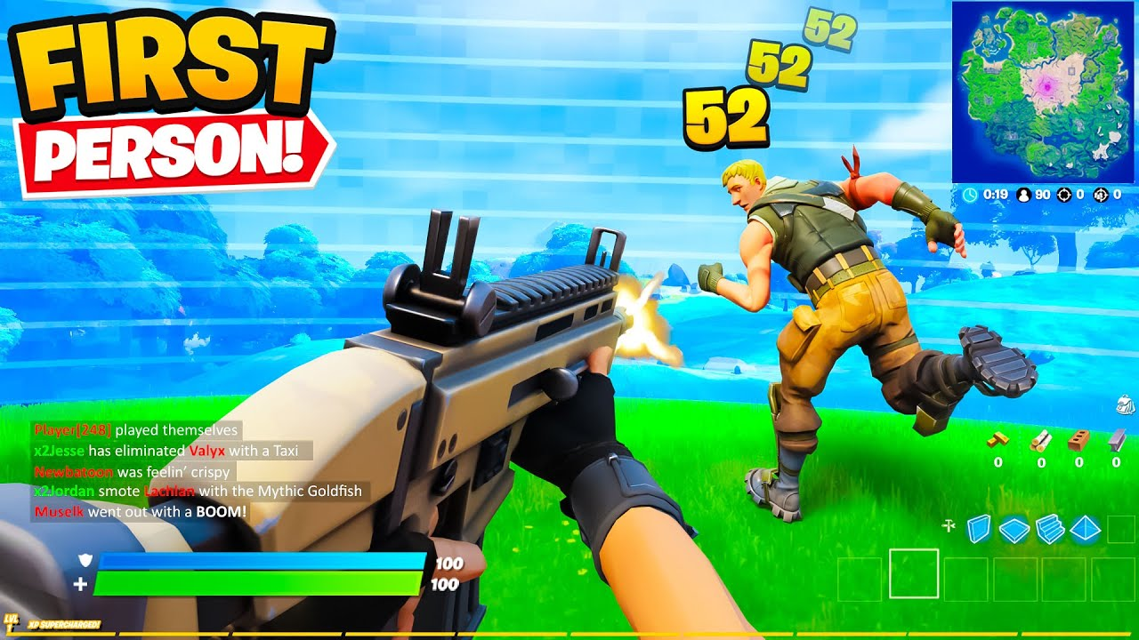 *NEW* FIRST PERSON in Fortnite