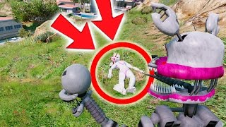 YOU WILL BE SO MAD AT NIGHTMARE MANGLE WHEN YOU SEE THIS! NOT MANGLE! (GTA Mods FNAF Funny Moments)