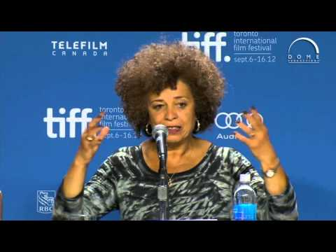 FREE ANGELA & ALL POLITICAL PRISONERS Press Conference | Festival 2012