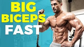 5 AWESOME Biceps Exercises ANYONE Can Do | Big Biceps FAST | Alex Costa