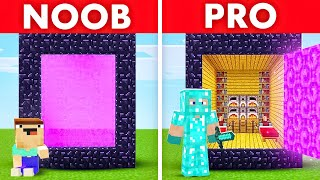 Insane NOOB vs. PRO Minecraft Animation!