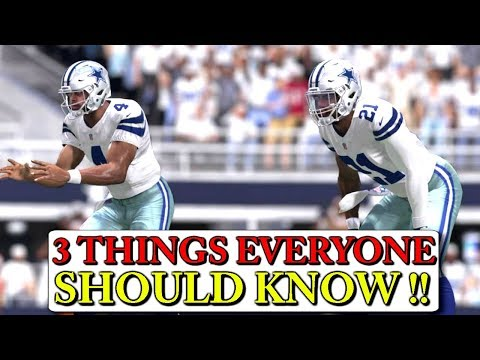 NEW MADDEN 18 GAMEPLAY:: 3 CHANGES EVERYONE SHOULD KNOW ASAP