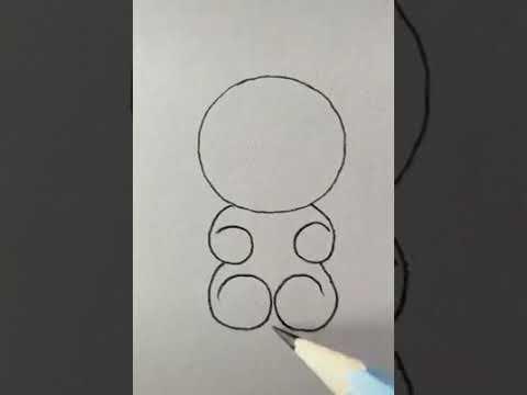 Научить детей рисовать легко и просто