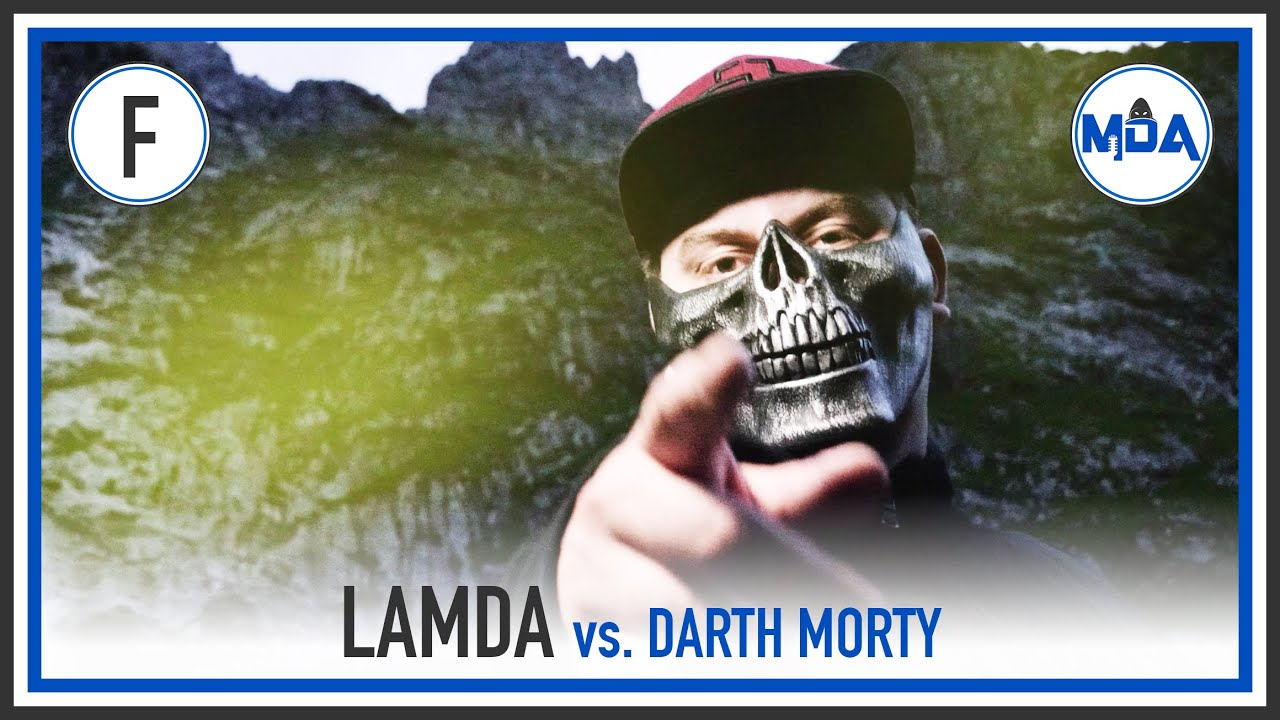 Lamda vs. Darth Morty | FINALE RR ❮MDA Rap Battle Turnier 6❯