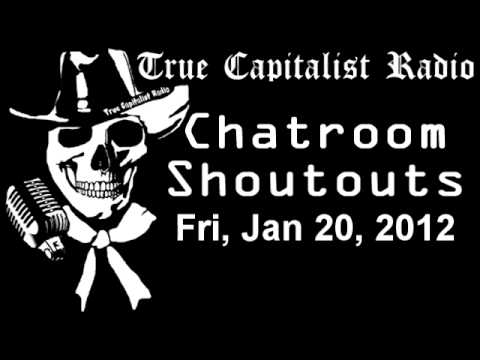 Chatroom Shoutouts - Fri, Jan 20, 2012