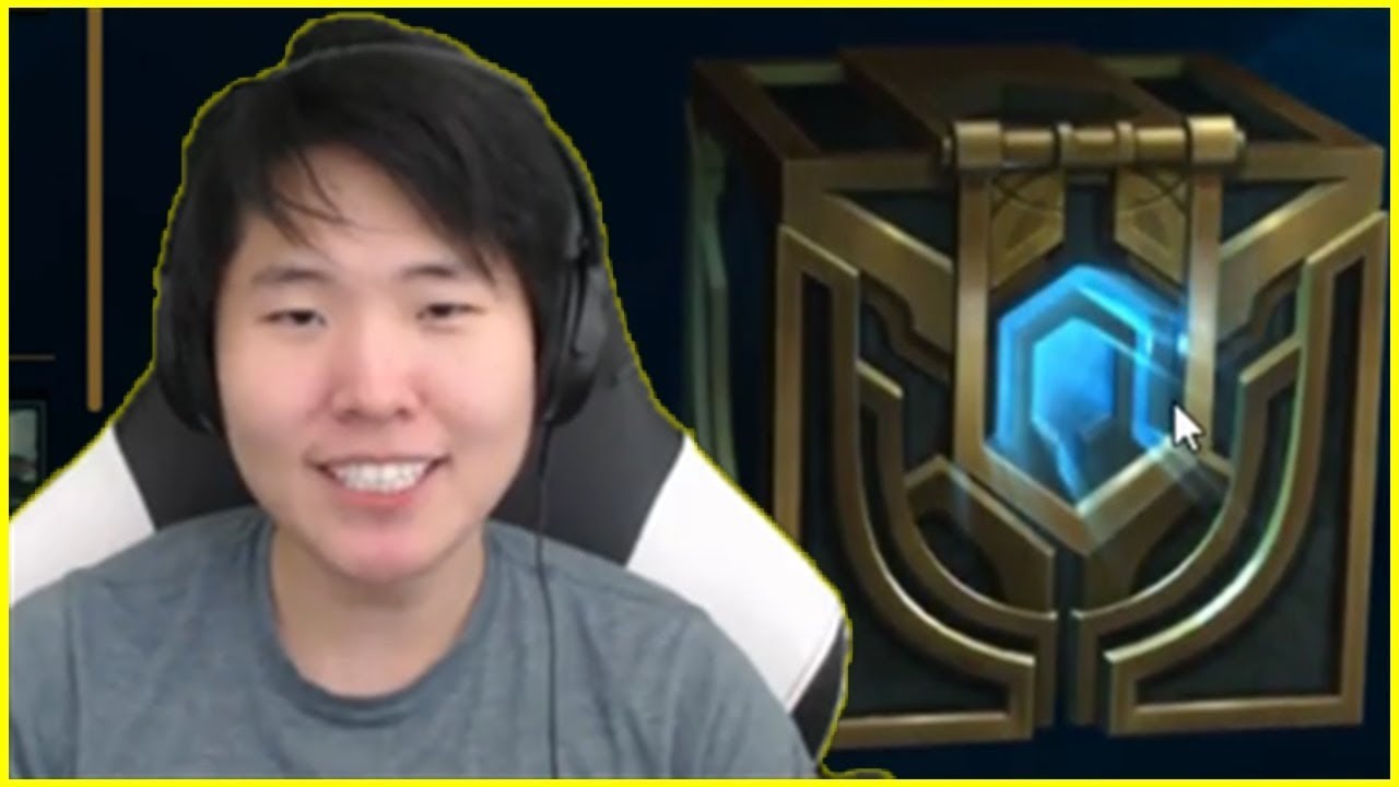 New LoL Player DisguisedToast Trying to Open Hextech ...  New LoL Player ...