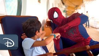 Epic Shows and Heroic Encounters Thrill Disney Cruise Line Guests During Marvel Day at Sea