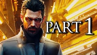 Deus Ex Mankind Divided Part 1 Stealth Pacifist Walkthrough No Commentary [1440p 60FPS PC ULTRA]