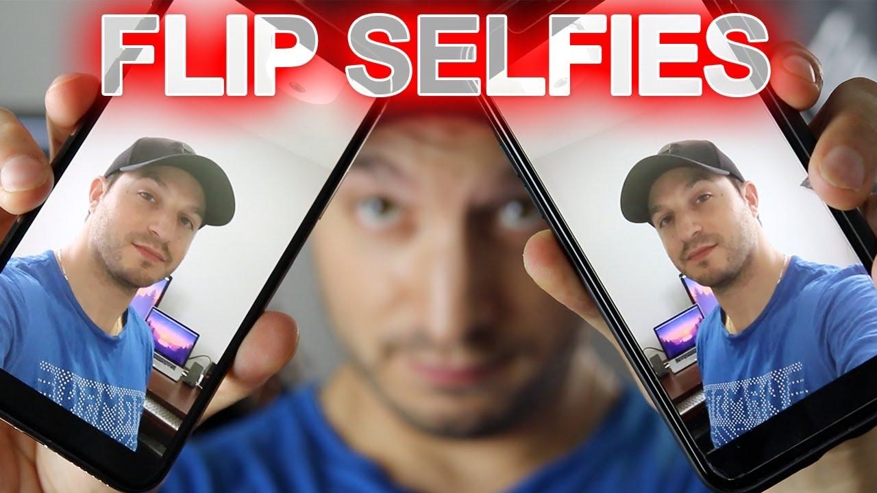 How To Mirror iPhone Camera Selfies - Flip iPhone Selfies Tip