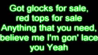Obie Trice - Snitch ft. Akon (Lyrics)