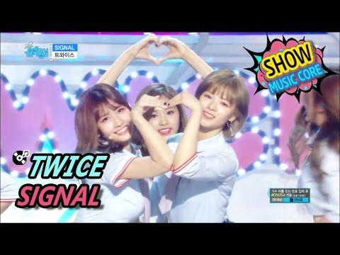 [Comeback Stage] TWICE - SIGNAL, 트와이스 - 시그널 Show Music core 20170520