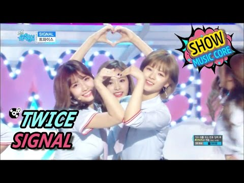 Thumbnail: [Comeback Stage] TWICE - SIGNAL, 트와이스 - 시그널 Show Music core 20170520