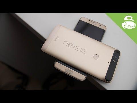 Samsung Galaxy S7/Edge vs Nexus 6P quick look