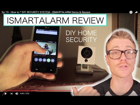 Do-It-Yourself (DIY) SECURITY SYSTEM – ISMARTALARM Demo & Review