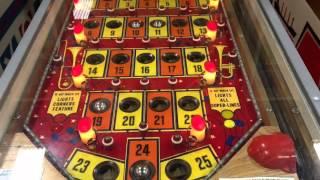 Original Bingo Gambling Pinball Machine