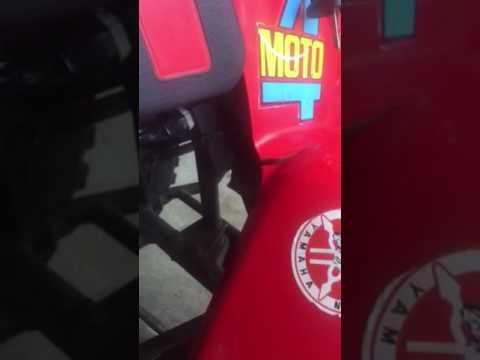 4 Pin Cdi Wiring Diagram Ge Electric Dryer Yamaha Badger Yfm80 Moto Atv Running On Chinese Box Youtube