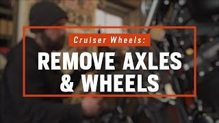 How To Remove Motorcycle Wheels | Cruisers