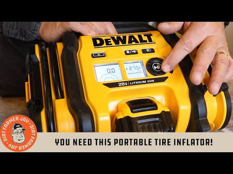 You NEED this Portable Tire Inflator!